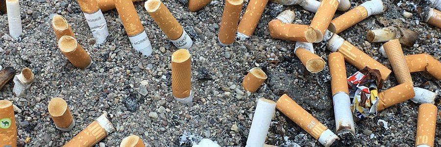 Las colillas de cigarros, una responsabilidad de las empresas tabacaleras