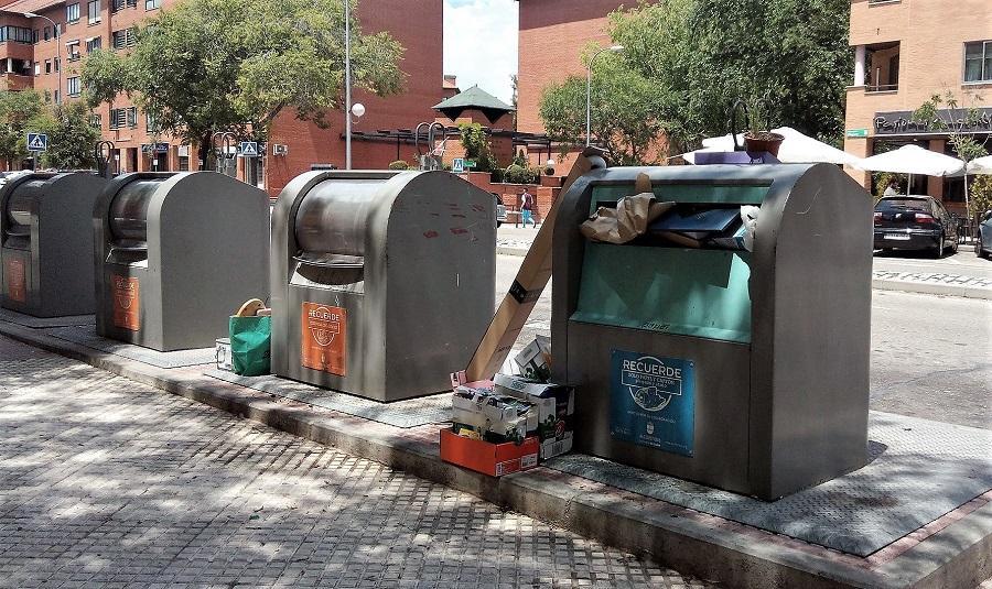 El sistetma 'Bin-CT' predice el nivel de llenado de los contenedores de residuos
