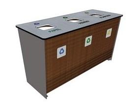 Desarrollan nuevo mobiliario urbano con residuos plásticos