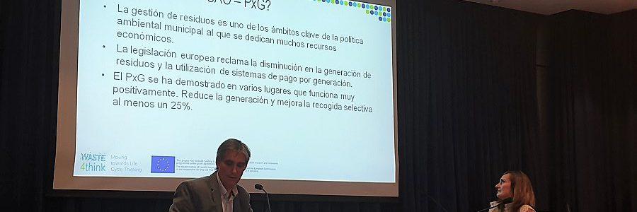 Aclima analiza el sistema de pago por generación de residuos de Zamudio (Bizkaia)