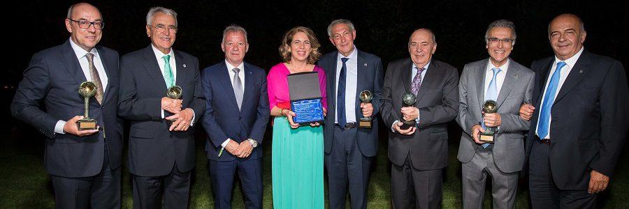 FER concede a Gumersindo Feijoo, de la Universidad de Santiago de Compostela, el premio 'Madre Tierra'
