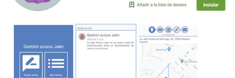 Jaén lanza una app para enviar incidencias en el servicio de limpieza y recogida  de residuos