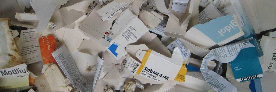 El 62% de los envases de medicamentos recogidos en el punto SIGRE se reciclaron