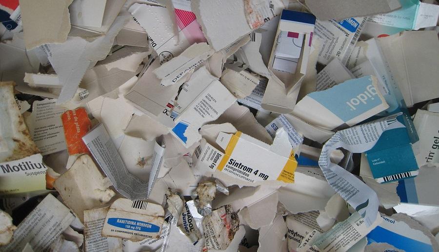 Envases de medicamentos