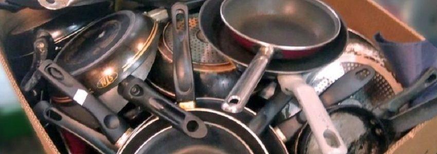Inoxibar comienza a reciclar sartenes usadas