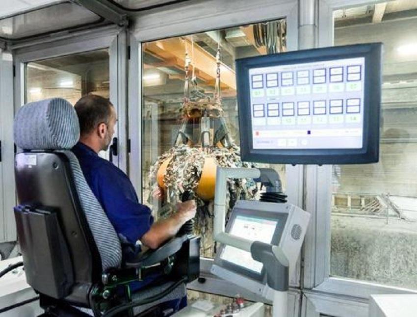 Nueva tecnología de control del volumen de residuos en el foso de la planta de valorización energética de TERSA