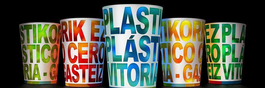 100.000 vasos reutilizables en las fiestas de La Blanca de Vitoria