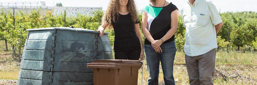 La UPNA apuesta por el compostaje de sus residuos orgánicos