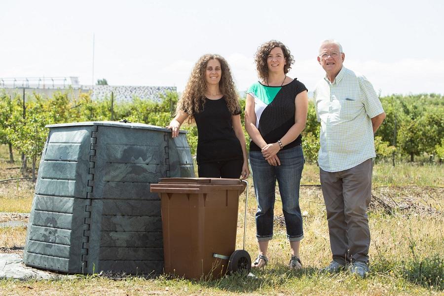 Compostaje de residuos orgánicos en la UPNA