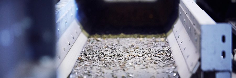 TOMRA lanza la nueva X-TRACT X6 FINES, capaz de clasificar fracciones de metal de hasta cinco milímetros