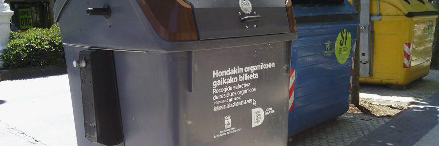 San Sebastián incorporará 170 sensores inteligentes a sus contenedores para mejorar la eficacia de la recogida de residuos