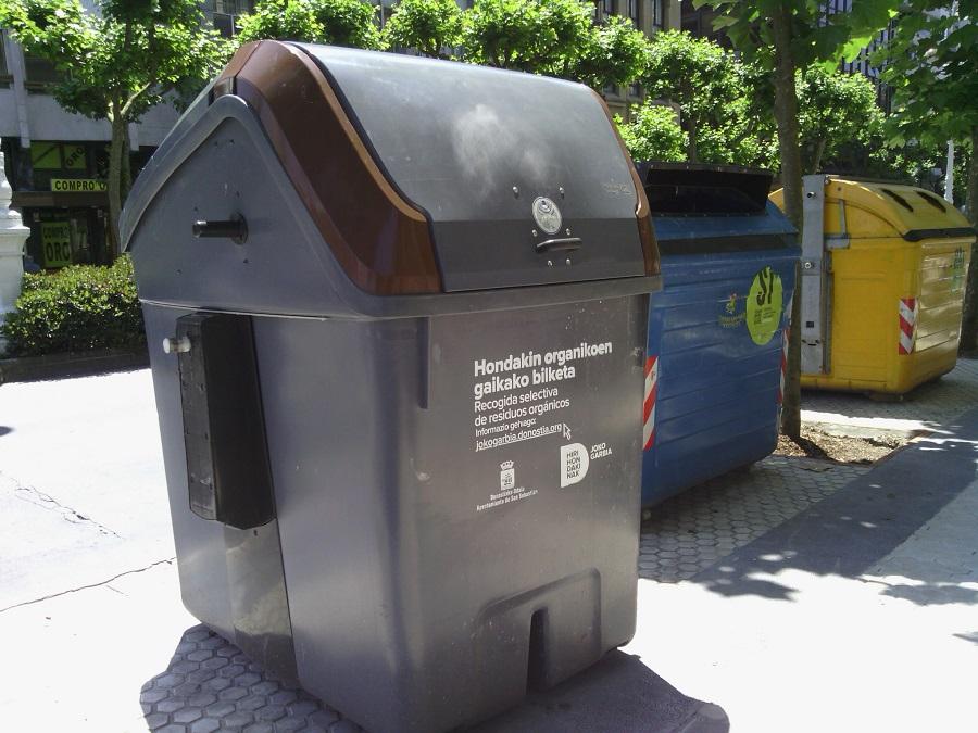 Más contenedores inteligentes en San Sebastián