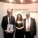 STADLER gana el premio alemán a la mejor mediana empresa