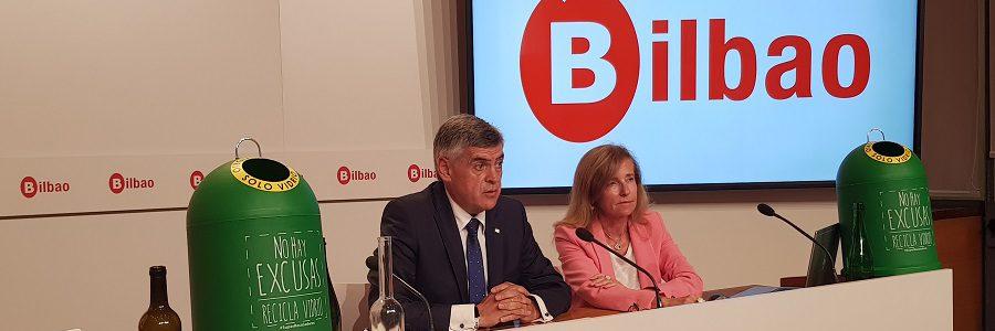 Bilbao prevé sancionar a los bares y restaurantes que no reciclen el vidrio