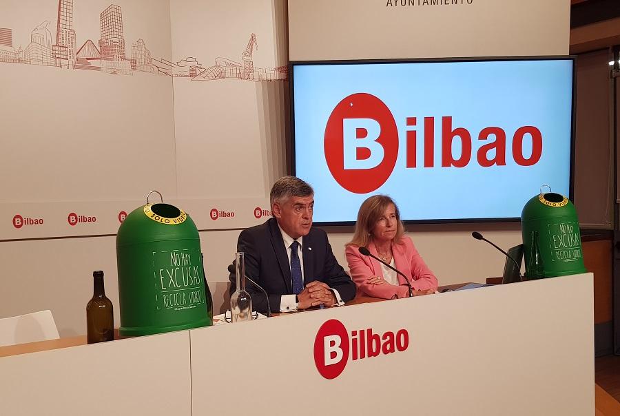Impulso al reciclaje de vidrio en la hostelería de Bilbao