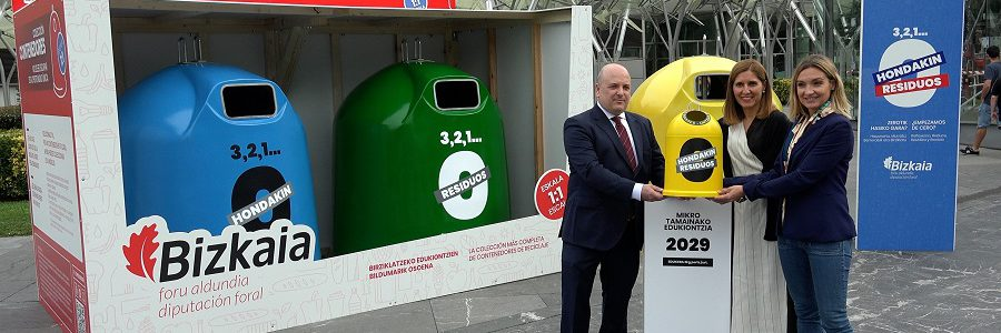 Bizkaia inicia una campaña para prevenir la generación de residuos urbanos