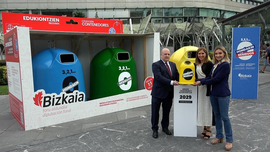 Nueva campaña en Bizkaia para prevenir la generación de residuos