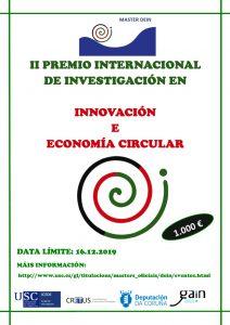 II Premio de investigación en innovación y economía circular