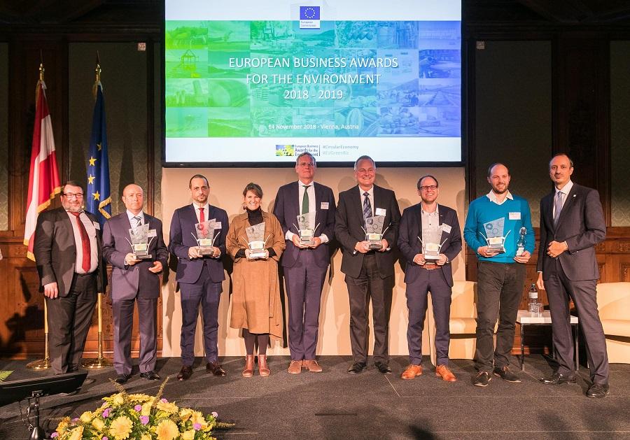 Convocados los premios europeos de medio ambiente a la empresa