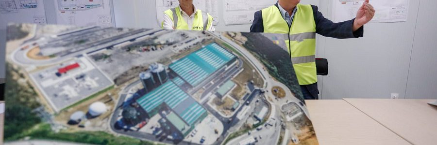 Gipuzkoa pone en marcha la planta de biometanización de Zubieta