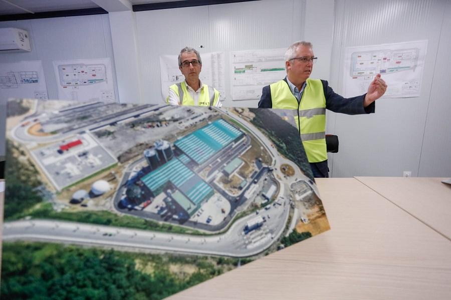 Entra en funcionamiento la planta de biometanización de Gipuzkoa