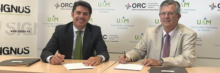 SIGNUS y la Universidad Autónoma de Madrid lanzan un máster en gestión de residuos