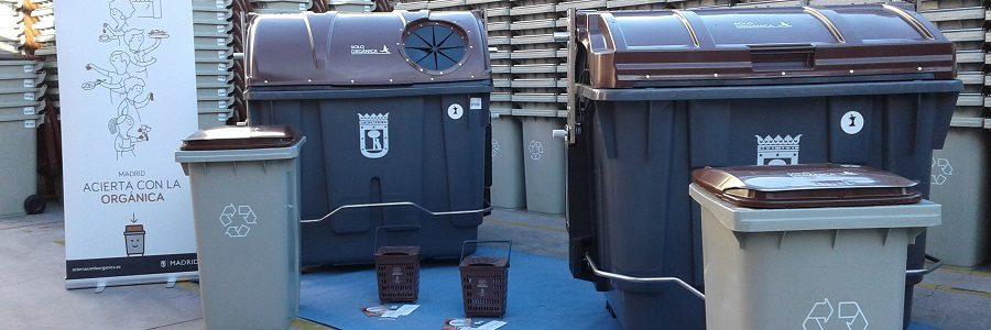 Ocho distritos de Madrid se sumarán a la recogida selectiva de materia orgánica antes de fin de año