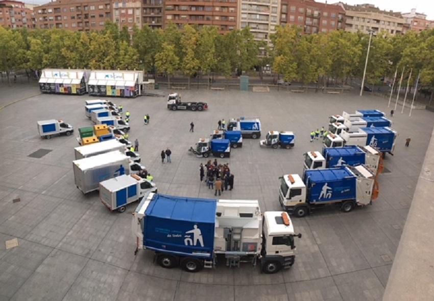 Nuevos equipos de limpieza y recogida de residuos en Logroño