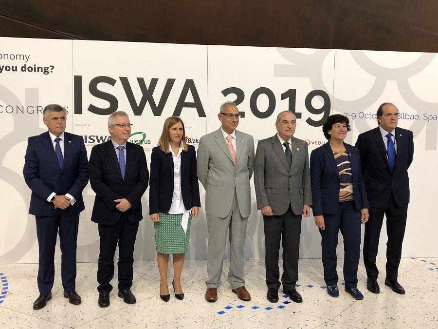 Iñaki Arriola abrió el congreso ISWA 2019 sobre gestión de residuos y economía circular