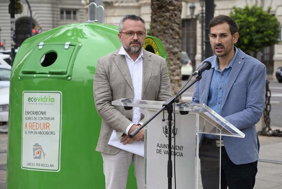 Nueva campaña de reciclaje de vidrio en el canal HORECA en Valencia