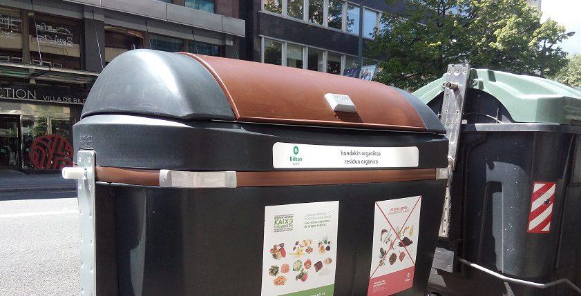 Denuncian una estafa relacionada con el reciclaje en Getxo