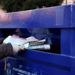 La recogida selectiva municipal de papel y cartón creció un 11% en 2018