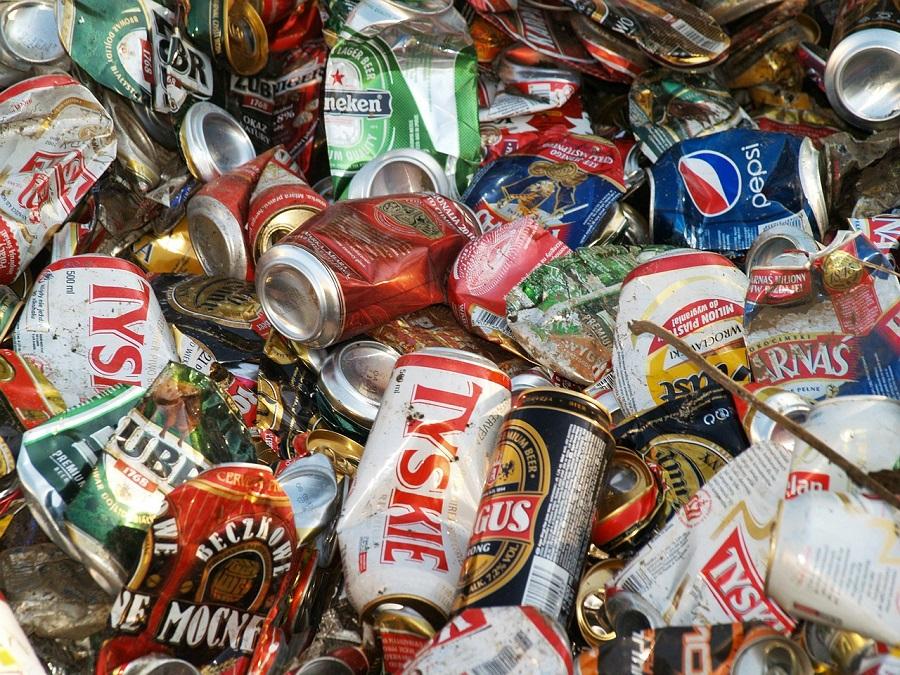 Crece el reciclaje de latas de aluminio para bebidas en Europa