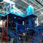 Concluida la nueva línea de reciclaje de vidrio del centro de valorización de residuos del Maresme