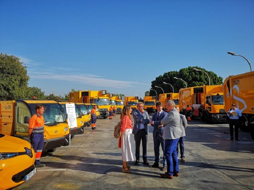 Lipasam incorporará nuevos vehículos eléctricos para la limpieza de Sevilla