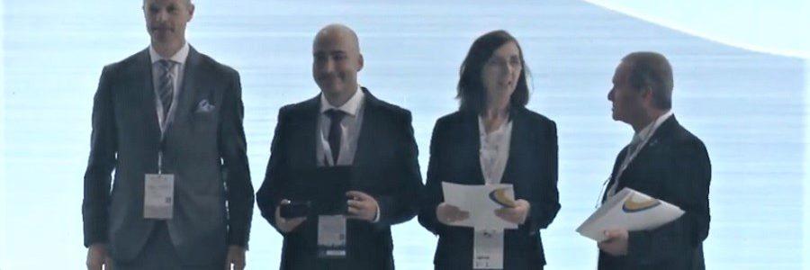 Premio a la mejor innovación para un proyecto que aprovecha residuos de la industria papelera para construir carreteras