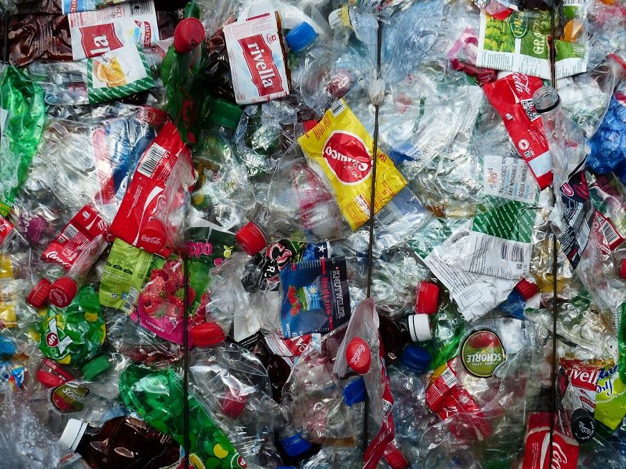 Residuos de plástico para reciclar