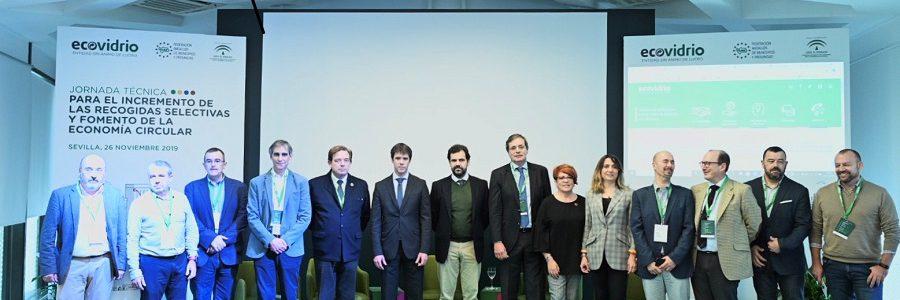 Ecovidrio analiza prácticas vanguardistas de recogida selectiva de residuos