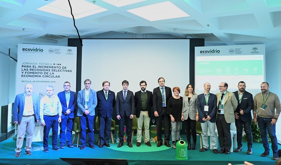 Jornada sobre recogida selectiva de Ecovidrio en Sevilla