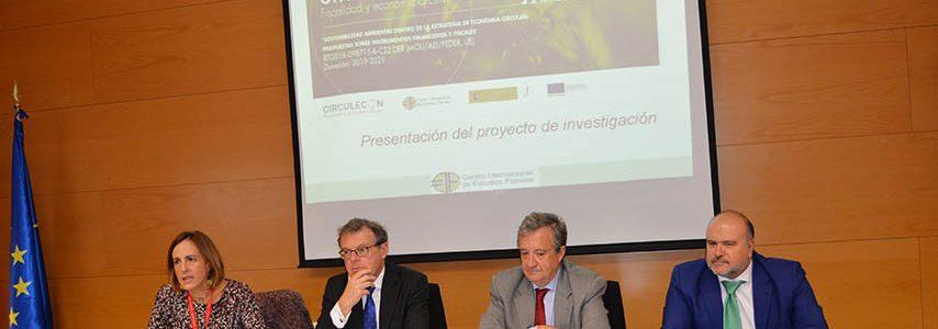 Un proyecto de la UCLM diseñará instrumentos fiscales para una economía circular