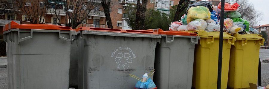 Madrid es la tercera ciudad europea que más residuos genera