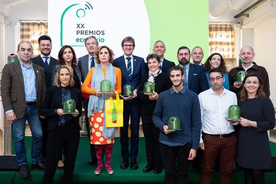 Entregados los Premios Ecovidrio 2019