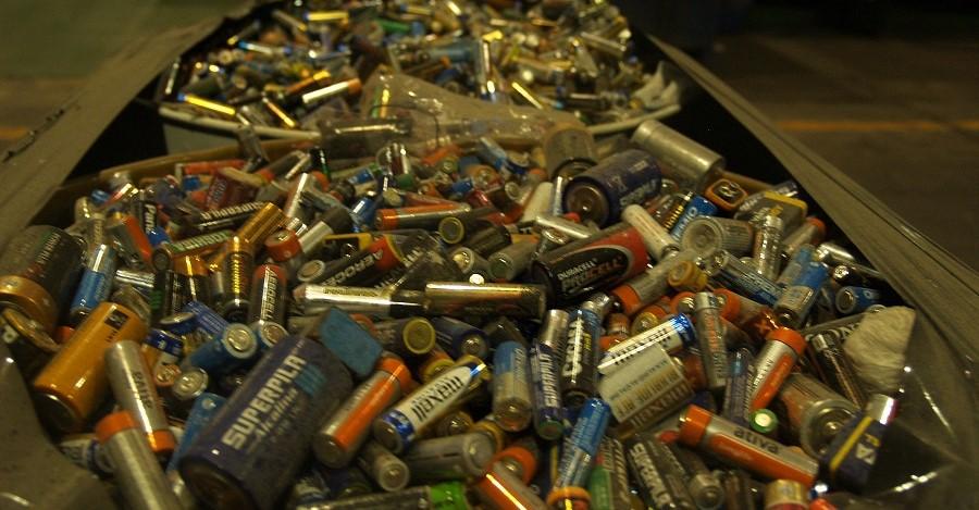 residuos de pilas