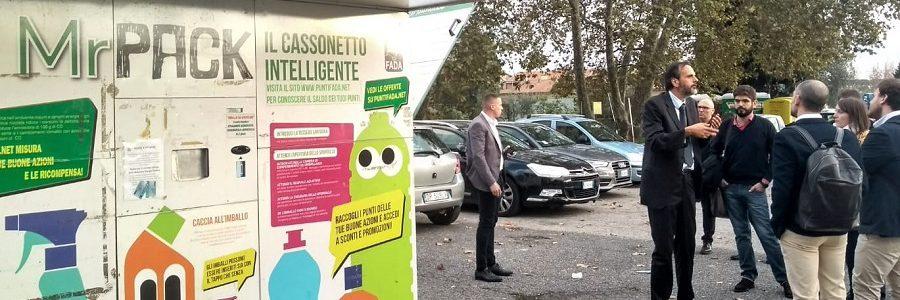 Puerta a puerta, pago por generación, sistemas de devolución de plásticos… así lidera Albano la gestión de residuos en Italia
