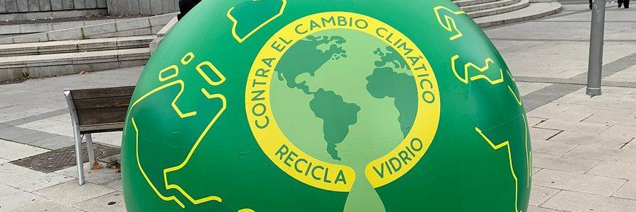 Ecovidrio promueve la sostenibilidad y el reciclaje de vidrio en la COP25 de Madrid