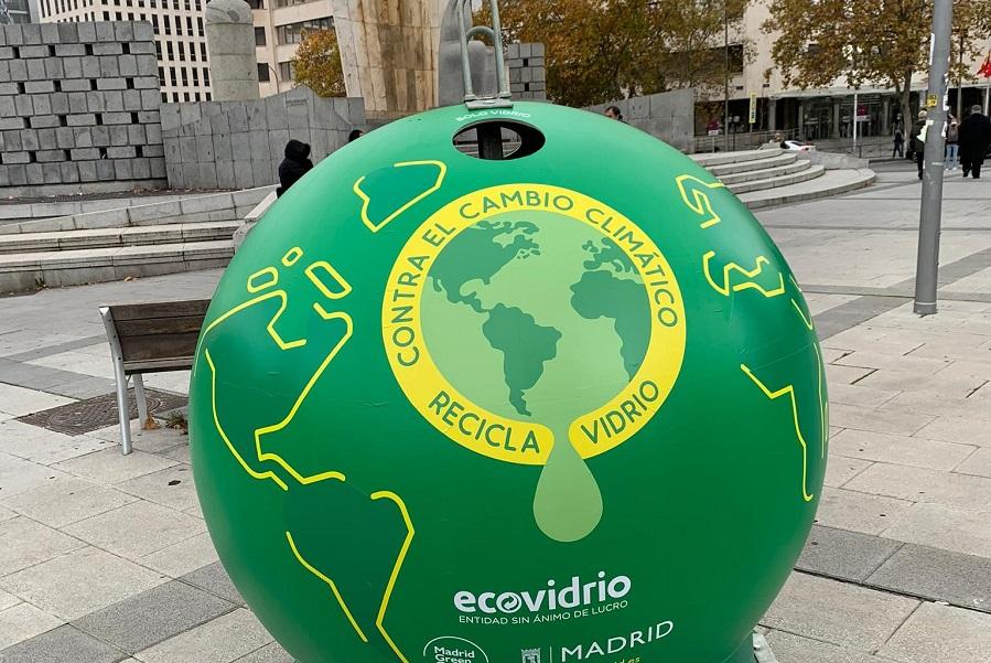 Ecovidrio desarrolla acciones de concienciación en la COP25