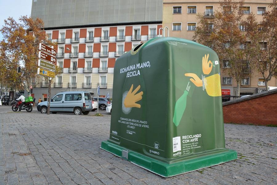 Campaña conjunta de Ecovidrio y el museo del prado