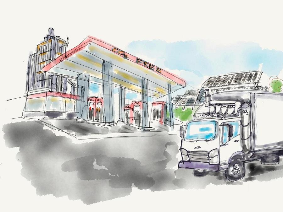 proponen capaturar el CO2 de los camiones