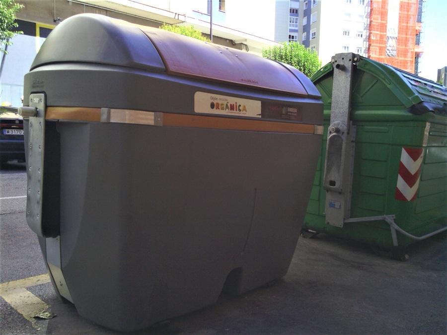 Experiencia pra mejorar la separación de residuos en Gijón