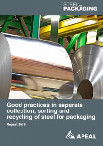 Good practices in separate collection, sorting and recycling of steel for packaging